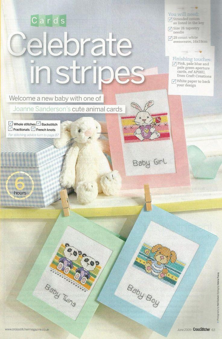 Celebrate in stripes - Joanne Sanderson