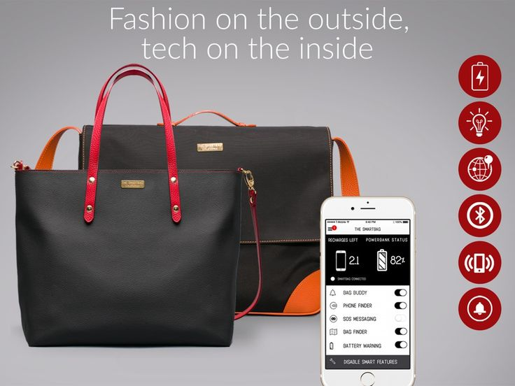 The Smartbag: The world's most beautiful hi-tech fashion bag project video thumbnail
