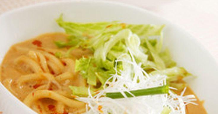 【IHレシピ】豆乳坦々うどん by 九州電力 [クックパッド] 簡単おいしいみんなのレシピが253万品
