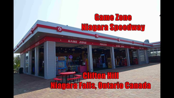 NEW ARCADE! Niagara Speedway Game Zone Arcade Tour: Clifton Hill, Niagara Falls, Ontario Canada