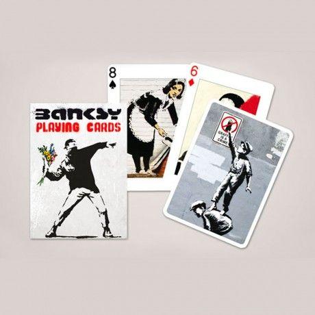 Banksy Card Game (x54)   – WISH LIST