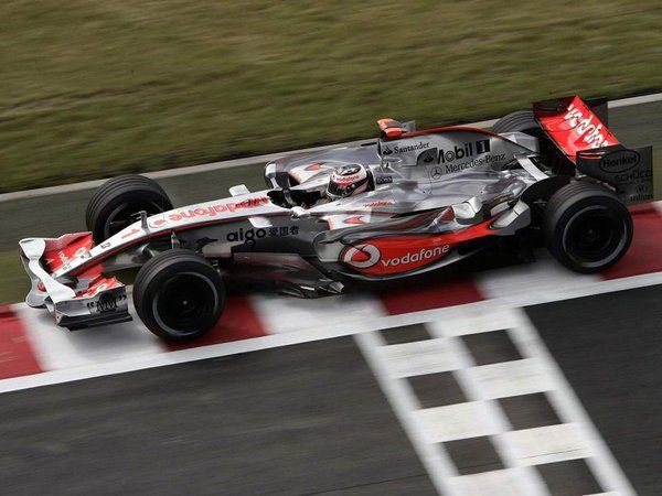 Fernando Alonso - McLaren Mercedes