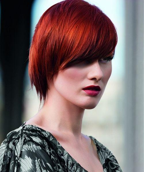 red!: Short Hair, Hair Colors, Hairstyles, Hair Styles, Hair Color Ideas, Haircolors, Red Hair Color, Haircut, Redhair