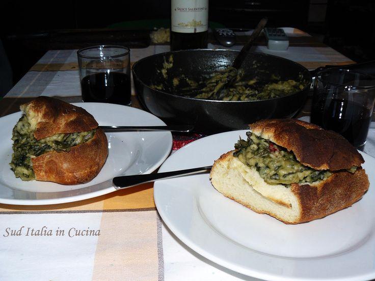 Fave e Foglie Riscaldate - Faf e Foggje Scarfat -http://cucinasuditalia.blogspot.it/2011/04/fav-arrmnat.html
