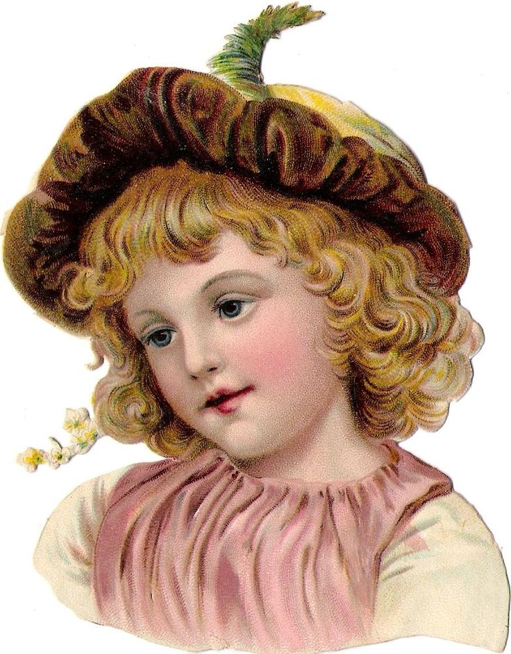 Oblaten Glanzbild scrap die cut chromo  Kind child  13cm  head Portrait