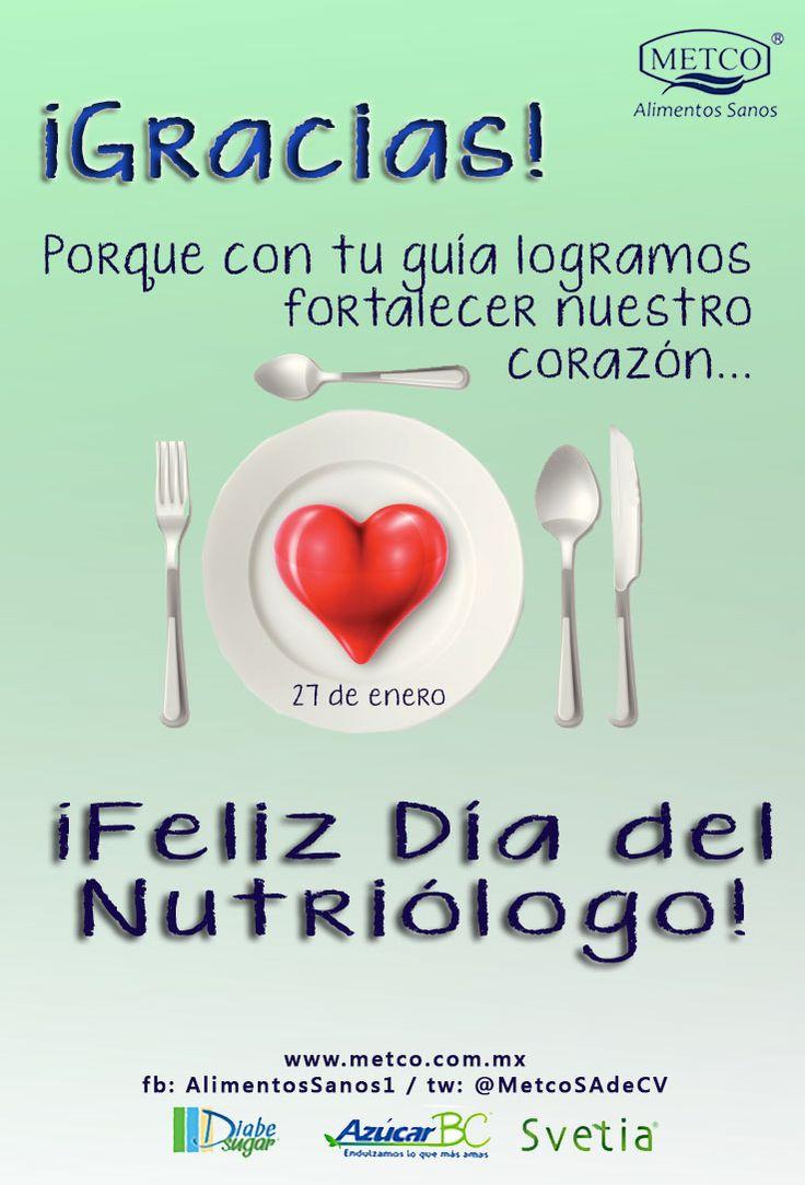¡Feliz Día del Nutriólogo!