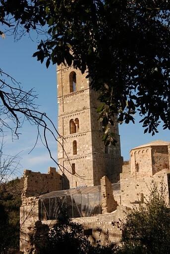Abbazia di san Rabano, Parco della Maremma, Grosseto