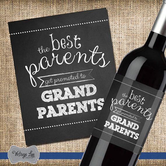 Les meilleurs Parents sont promus aux par VintageLeeCrafted sur Etsy