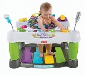 Baby Toys Fisher-Price Superstar Step 'N Play Piano - Developmental Baby Toys