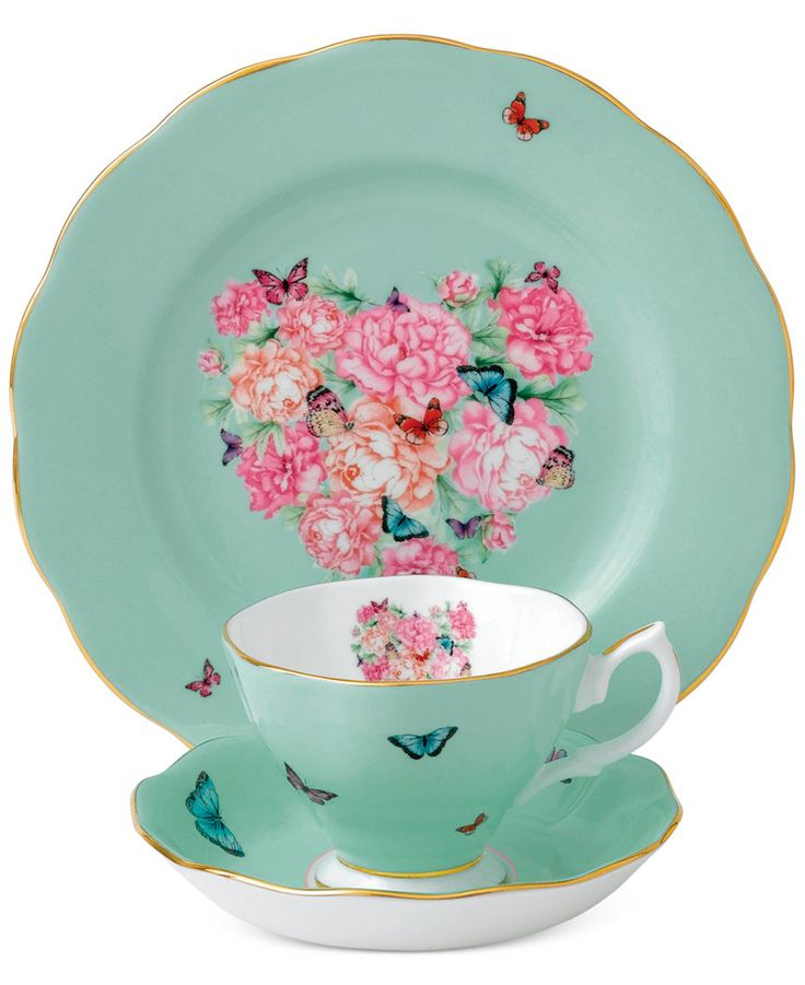 Miranda Kerr for Royal Albert Blessings 3-Pc. Set - Fine China - Macy's