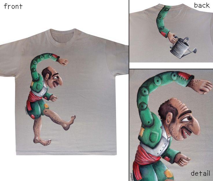 Karagkiozis - Hand painted t-shirt