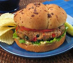 Chicken of the Sea's Cajun Tuna Burgers Recipe. This is so so yummy y'all!