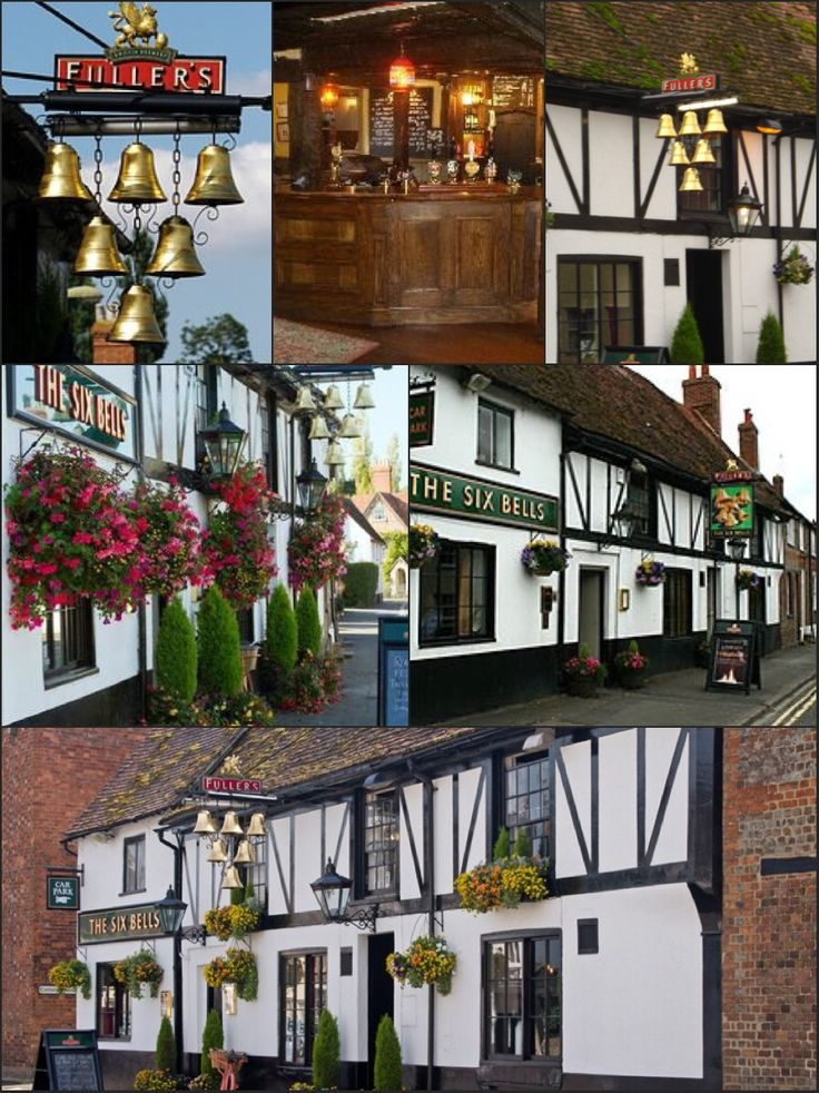 The Six Bells, Thame Oxfordshire, England.
