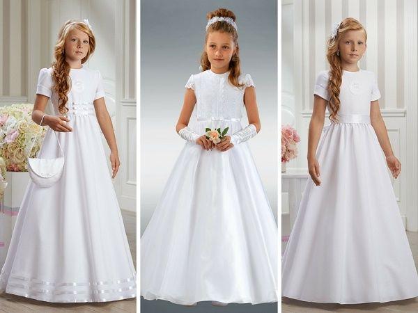 Sukienki Na Komunie Dla Dziewczynek Najladniejsze Sukienki Komunijne Mjakmama Pl Flower Girl Dresses Girls Dresses Dresses