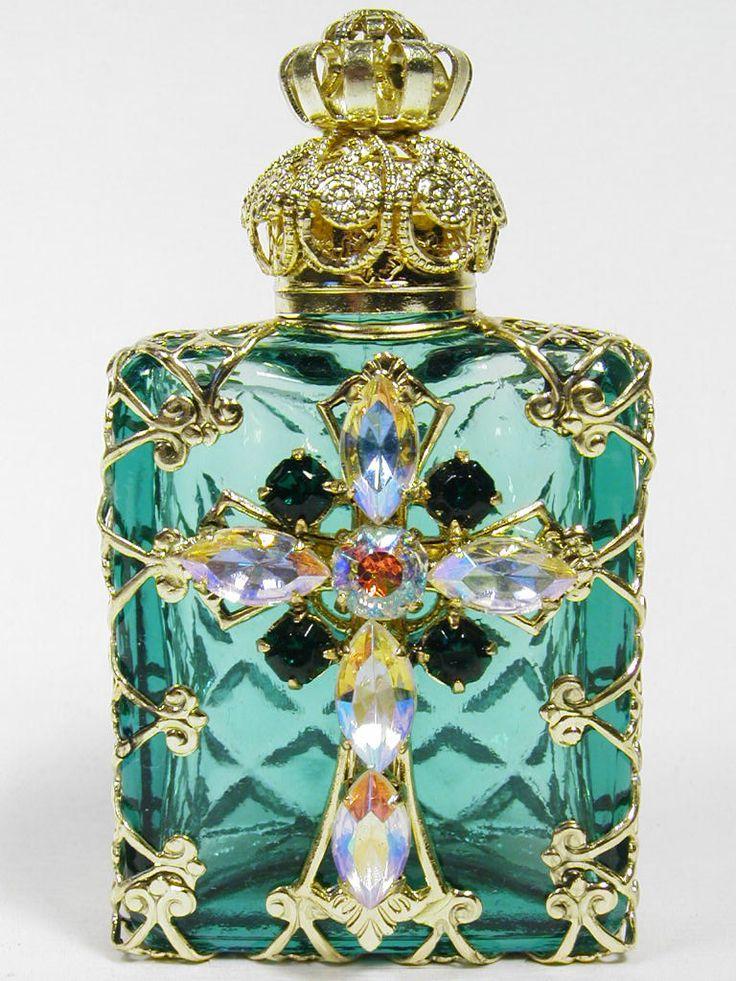 #Jeweled #Perfume #Bottle