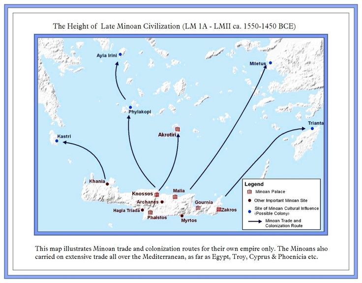 Images Of Mycenaean Civilization Map Rock Cafe