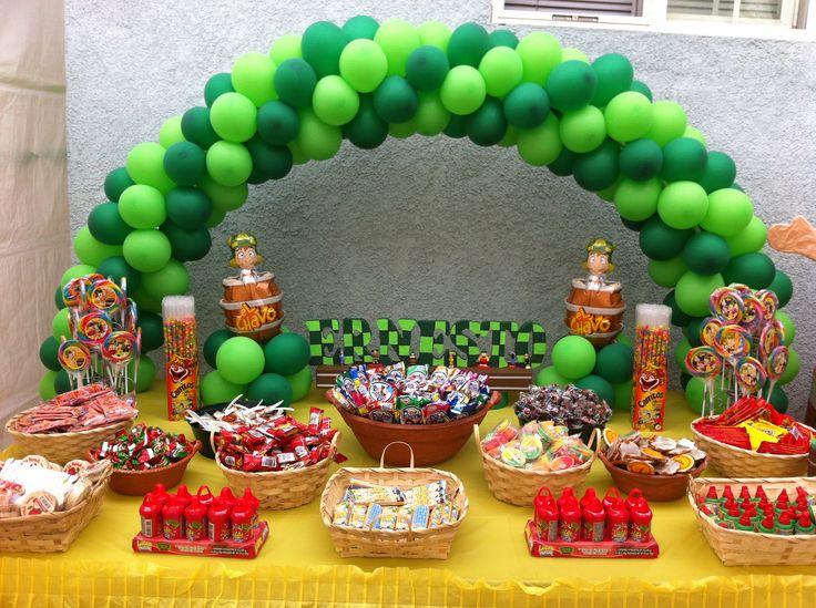 El Chavo del 8 candy table