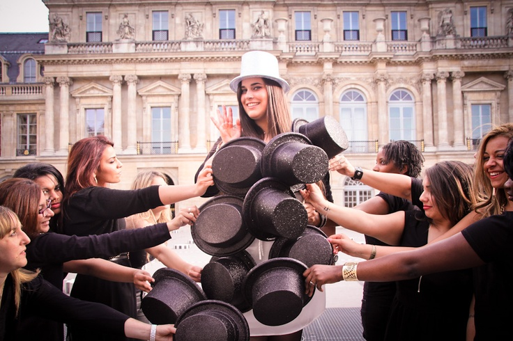 Shooting entre copines pour l'EVJF  In the Mood organisateur d'EVJF  https://www.facebook.com/pages/In-the-mood/444291038917368