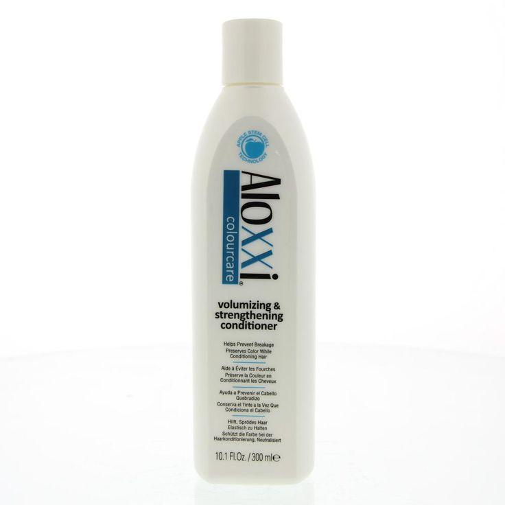 Aloxxi Colourcare Volumizing&Strenghtening Conditioner Breekbaar Haar  Description: Aloxxi Volumizing&Strenghtening Conditioner.Krijg volume kracht en kleurverzorging in een conditioner. Verrijkt met dezelfde Apple Stem Cell Technology zoals gebruikt in de huidverzorging om uiterlijke tekenen van huidveroudering te verbeteren helpt deze shampoo bij het herstellen van vitaliteit en elasticiteit van het haar terwijl het volume geeft aan fijn haar. Een melange van 10 antioxidant extracten…