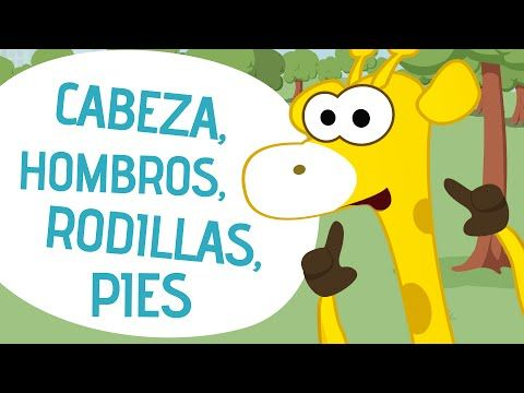 Our Favorite Parts of the Body Songs in Spanish | SPANISH MAMA. Cabeza, homros, rodillas, pies / Head, Shoulders, Knees, and Toes in Spanish.