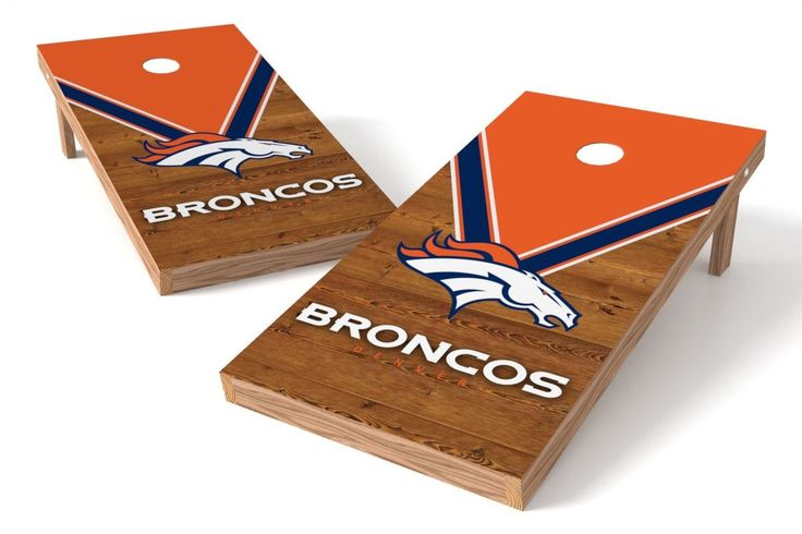 Denver Broncos Cornhole Board Set - Uniform