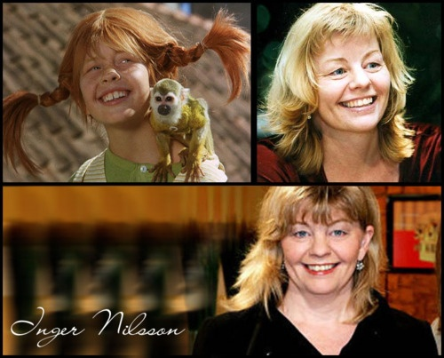 The actress who played Pippi