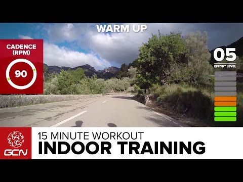 15 Minute Workout - Best Indoor Cycling Training Cardio Session - YouTube