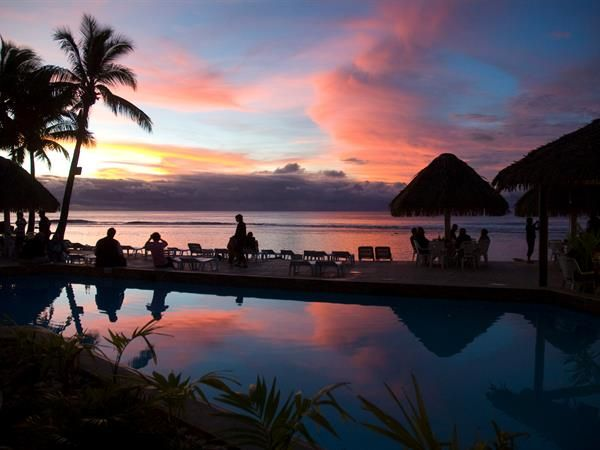 Edgewater Resort & Spa -  set right on the white sandy beach and turquoise waters this is the the largest resort in the country offering 280 family friendly rooms.