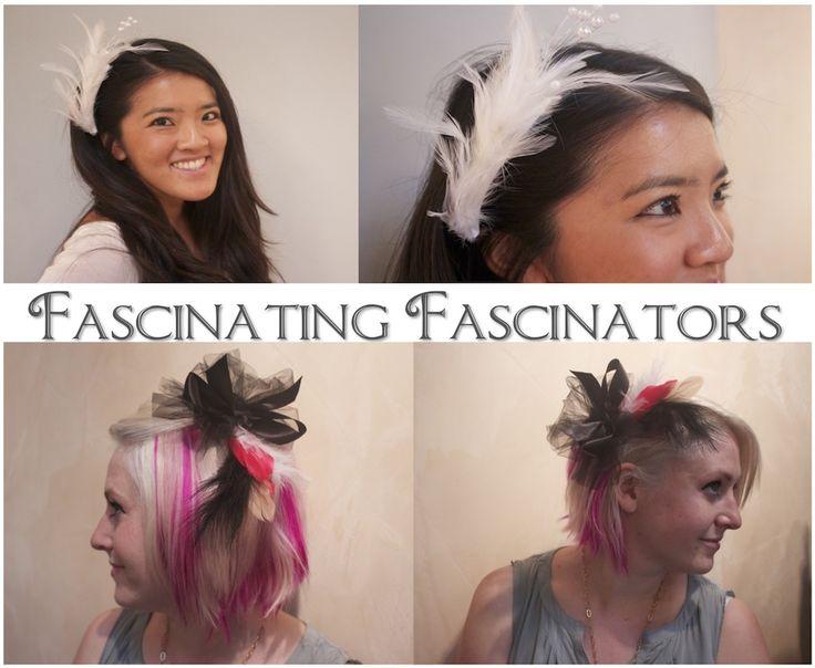 Make your own British style fascinators!