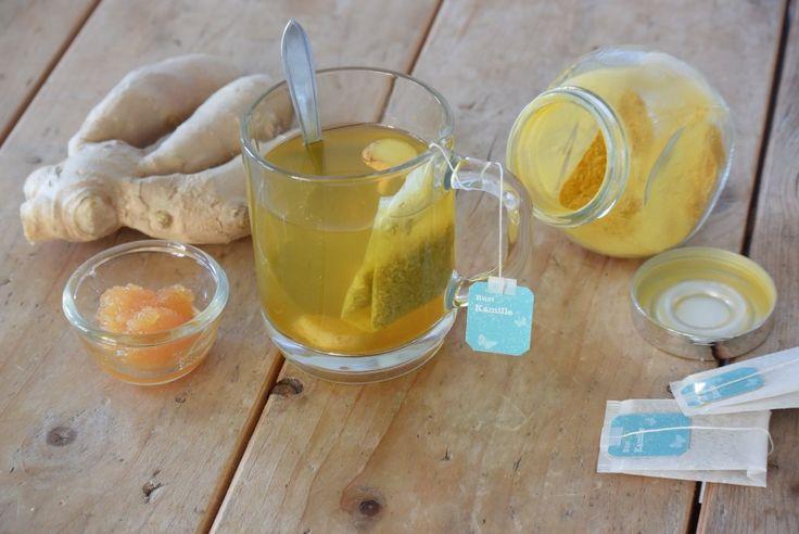 Gezonde thee. Via de site van Rens kroeg kwam ik een geweldige tip tegen over een gezonde thee die je voor het slapen gaan drinkt.