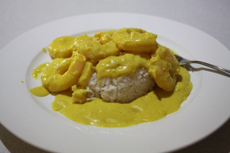 Sistermixin Thermomix Curried Coconut Prawns (with rice)