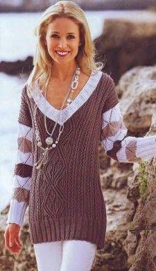 Вязание спицами для женщин — Мир вязания и рукоделия