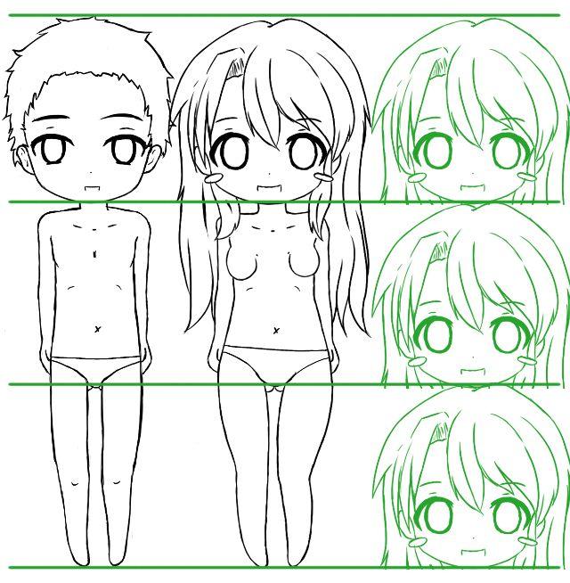 sekai 39 s blog apprendre dessiner manga tutoriel manga le corps d 39 un chibi tutoriels manga. Black Bedroom Furniture Sets. Home Design Ideas