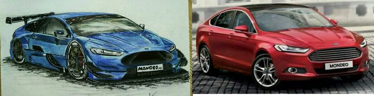FORD MONDEO SUPER RC TOURİNG CAR 2015 & FORD MONDEO 2015 titanium