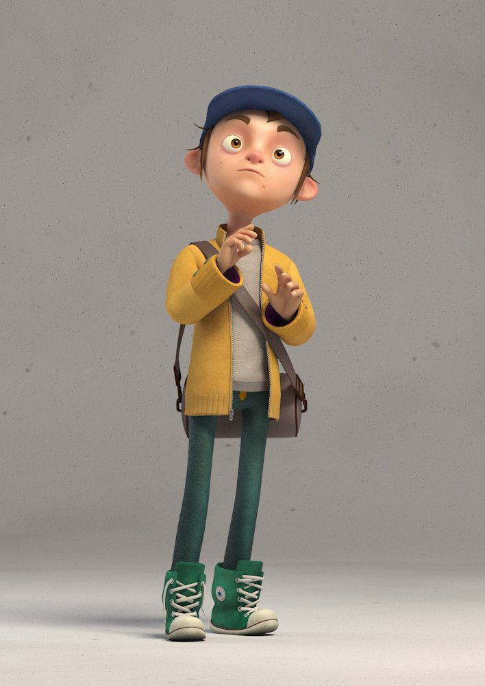 Modern Kid, Selçuk Yağcı on ArtStation at https://www.artstation.com/artwork/LZaR0