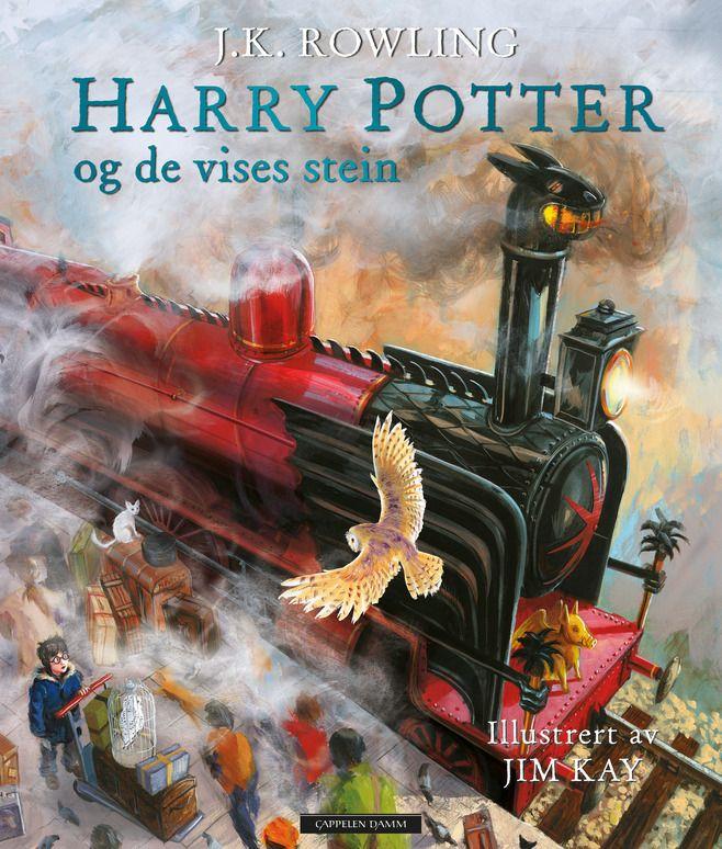 Dette er første bind i vår tids største barnebokklassiker i ny illustrert utgave. Harry Potter har ikke opplevd mye magi i sitt liv. Han bor i et kott under trappa hos den ekle familien Dumling, og han har ikke feiret bursdagen sin på elleve år. Men alt dette endrer seg når en ugle leverer et mystisk brev med innbydelse til Galtvort høyere skole for hekseri og trolldom – et utrolig sted som Harry og alle som leser om ham aldri vil glemme...