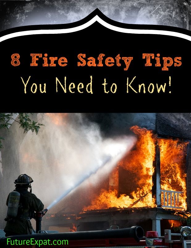 Some of these make so much sense that you wonder why you for House fire safety tips