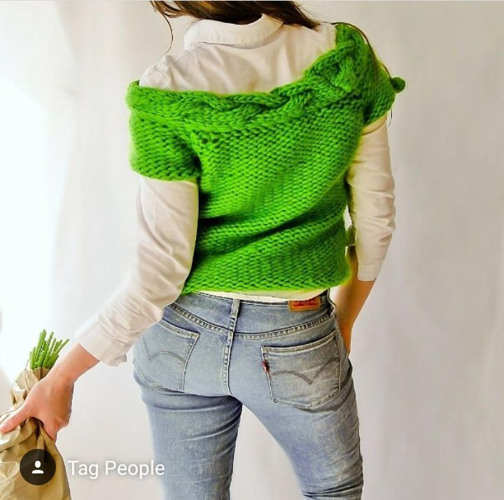 UNIQUE KNIT Top.Off-shoulder top.Bohemian top.Crochet top.Chunky knit.Boho top.Clothing.Womens top.Vests for women.Fashion top.Tank top by NinElDesign on Etsy