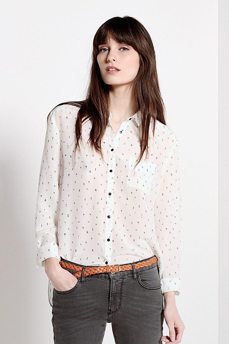 blouse falilou totem chemise des petits hauts 1 chemise pinterest des petit haut les. Black Bedroom Furniture Sets. Home Design Ideas