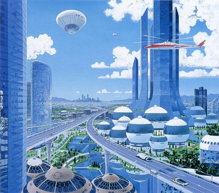 Sci Fi Art At Its Finest By Japanese: Tatsushi Morimoto Space Teriyaki 3