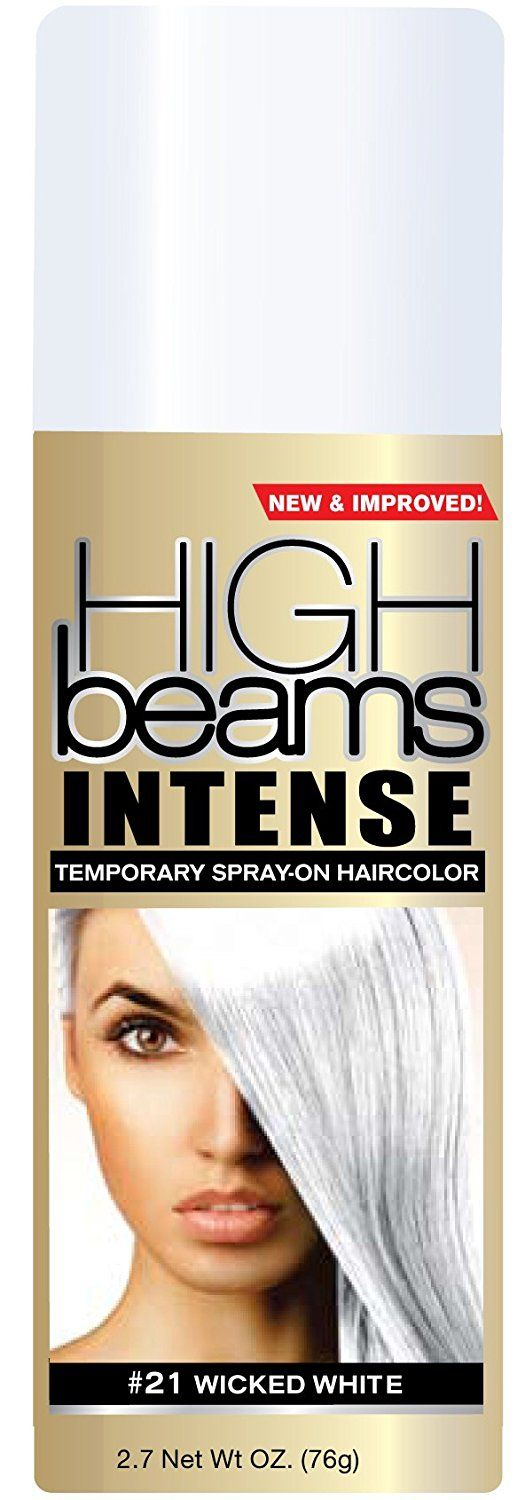 High Beams Intense Temporary Spray On Hair Color - -21 Wick White 2.7 oz. (Pack of 2) *** Click image to review more details.
