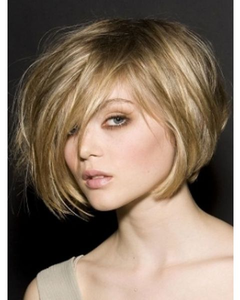 side swept bob hairstyle 2012