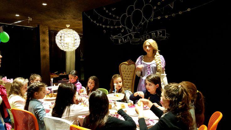 Un tè con le Principesse! #tea #party #birthday #princess
