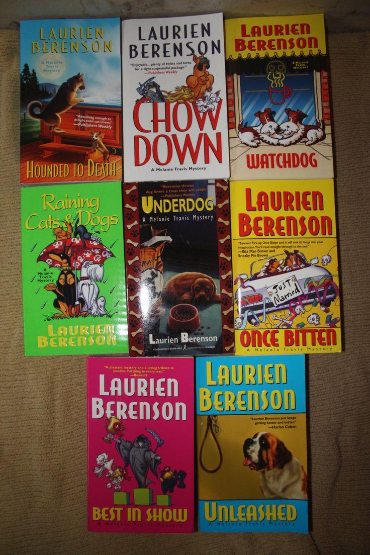8 Laurien Berenson books by TheKindLady on Etsy