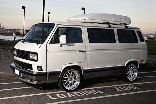 https://flic.kr/p/6sBCep | Volkswagen Vanagon | 1991 Volkswagen Vanagon Carat with 20 inch rims