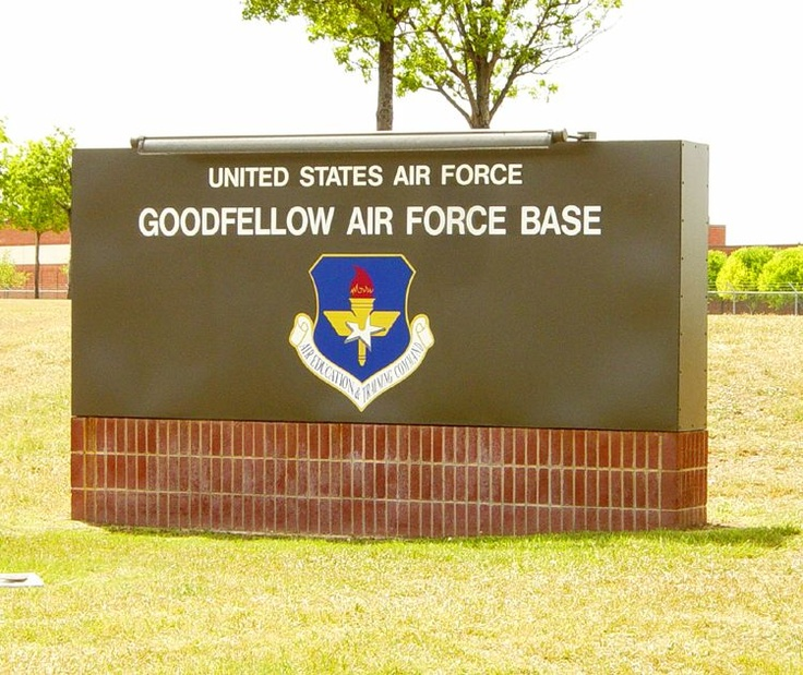 Goodfellow Air Force Base, San Angelo, TX ~ Louis F. Garland DoD Fire Academy - Rescue Technican 1 ~ 2010