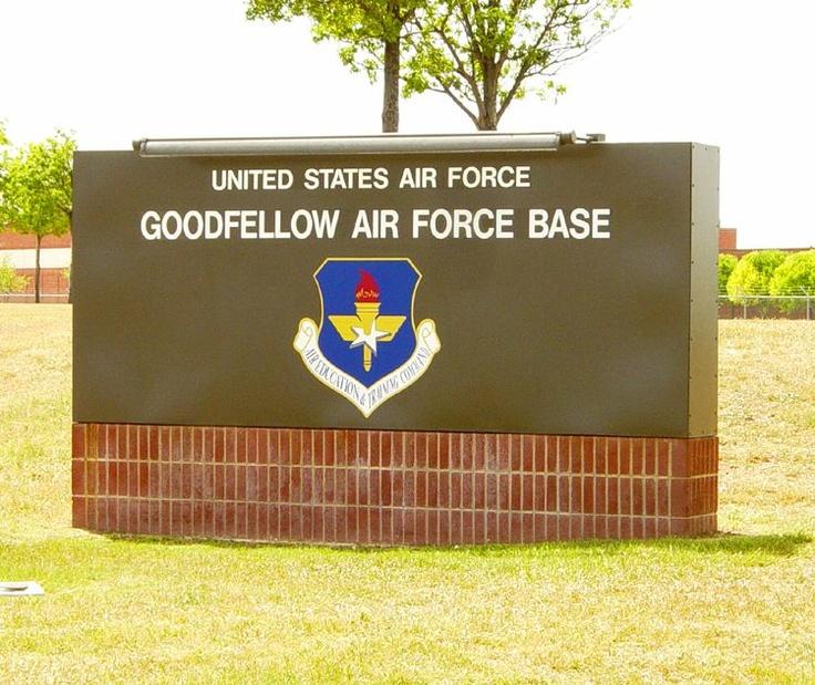 Goodfellow Air Force Base, San Angelo, TX ~ Louis F. Garland DoD Fire ...