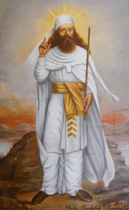 Zoroaster, also called Zarathustra, was an ancient Persian prophet who founded the first historically known reilgion. That is why the ancient Persian religion was called Zoranthenism.