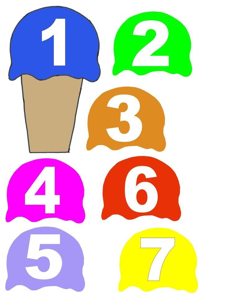 Number Order: Cream Numbers, Numbers Order, Random Pins, Felt Boards, Practice Numbers, Ordinal Numbers, Pin Parties
