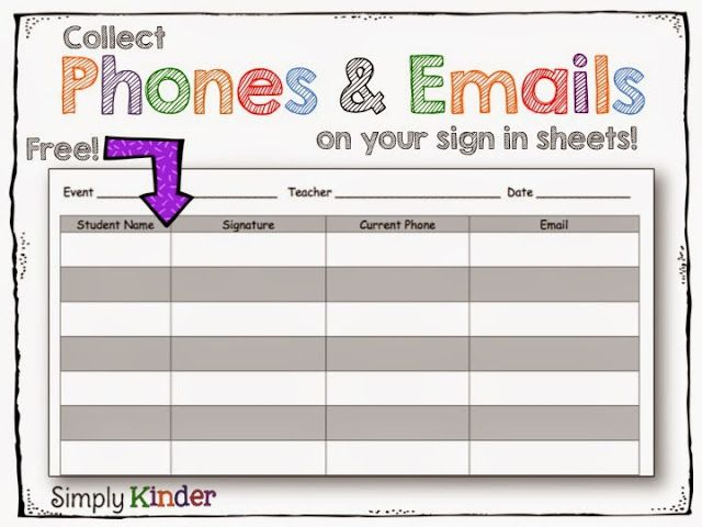 50 best Parent\/Student\/Teacher Conferences images on Pinterest - conference sign up sheet template
